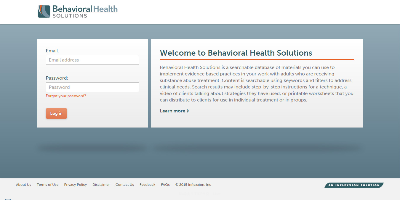 A Search Tool For Evidence Based Treatments For Substance Abuse Clinicians.
